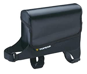 Topeak Tri DryBag 防水自行车上管/杆包 5.7 x 1.9 x 5.0-Inch TO6034-NOIR