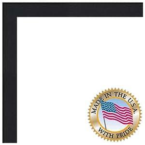 """画框红橡树染黑 0.825 英寸宽 黑色 5 x 15"""" 2WOM0066-81784-YBLK-5x15"""