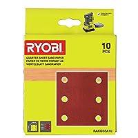 Ryobi RAKQSSA10 1/4 打磨机床单套装(10 件)