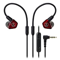 Audio Technica 铁三角 ATH-LS200iS 入耳式耳机 魅红色