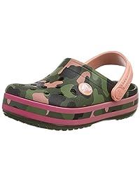 crocs 卡骆驰 中性儿童 Crocband 多图案儿童洞鞋