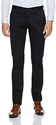G-STAR RAW 男式 Bronson 修身斜纹棉布长裤 Black (Black 990) 30W / 36L