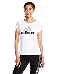 adidas 阿迪达斯 女式 运动型格 短袖T恤 SS T BO