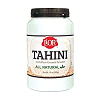 LiOR Tahini, Natural 100% Pure Ground Sesame, 16 Ounce Jar
