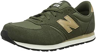 New Balance Unisex Kids' 420 Trainers, Green (Army Green/Tan Aquatic), 13 32 EU