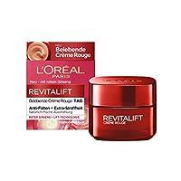 L'Oréal Paris 巴黎欧莱雅 复颜抗皱紧致滋润霜 焕颜激活效果 针对疲倦肌肤和眼睛 Revitalift Rouge霜 50 ml