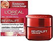 L'Oréal Paris 巴黎欧莱雅 Revitalift Crème Rouge 复颜抗皱紧致滋润霜,针对疲倦肌肤和双眼,