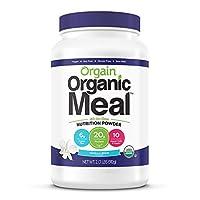 Orgain - 膳食粉末厂根据香子兰豆 - 2.01磅。