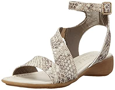 The Flexx 女士加衬坡跟凉鞋 Roccia Zumba 8 M US