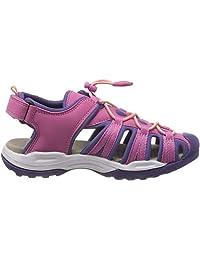 Geox J Borealis 女孩 B,女童封闭式凉鞋