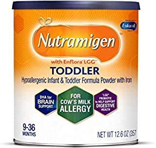 Nutramigen with enflora LGG 適用于牛奶* powder CAN 幼兒 12.6 oz Pack of 1 12.6