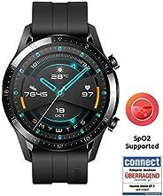 Huawei 华为 GT 2(46毫米)手表 带心律测量 音乐播放和蓝牙电话功能 5ATM防水 磨砂黑
