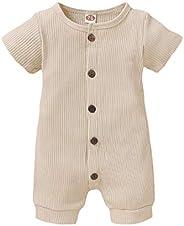 秋季连体衣,男女宝宝长袖棉质连衫裤,带袋鼠口袋