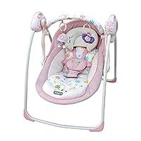 joymaker 婴儿摇椅 躺椅 宝宝躺椅 秋千摇椅 (粉红色) …