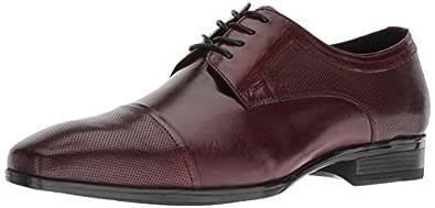 Kenneth Cole New York Oliver 男士系带牛津鞋 枣红色 7.5 M US