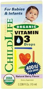 CHILDLIFE 童年时光 液态维生素D3 浆果 0.338液体盎司 (10ml)