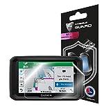 IPG 适用于 Garmin dezl 580 LMT-S 5 英寸 GPS 卡车导航屏幕保护膜隐形超高清透明薄膜防刮皮肤护理 - 平滑/自我修复/气泡 - 不含电池