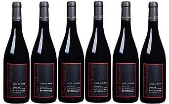 【亚马逊海外直采】Joel Robuchon 乔尔·侯布匈 Côtes du Rhône 罗纳河谷 干红葡萄酒箱装 750ml*6 (法国品牌红酒)