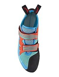 Red Chili 中性款 - 成人充电器爬山鞋,蓝*-橙色(381),英国码 4.5