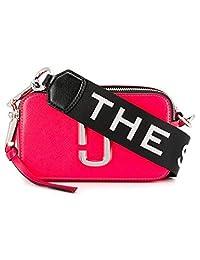Marc Jacobs 女式 斜挎包 Snapshot flouro M0014503-OS 艳粉色 18.4 * 5.10 * 10.6cm