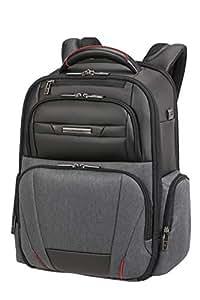 Samsonite 新秀丽 Pro-DLX Duo 笔记本电脑背包 46 厘米 20 升 灰色 Melange/黑色