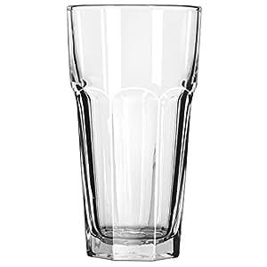 Libbey Gibraltar 22 盎司冰茶杯,透明 透明 43231-97376