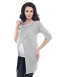 Purpless 孕妇 怀孕和哺乳 哺乳开衫 针织衫 9001/5