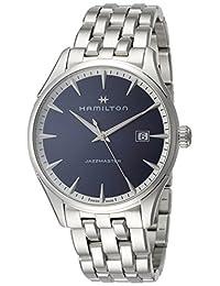 Hamilton Jazzmaster 蓝色表盘男式手表 H32451141