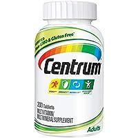 Centrum 善存 成人(200粒)复合维生素/多种矿物质补充剂片剂,维生素D3