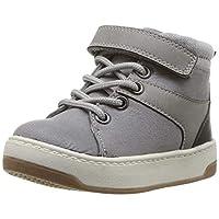 Carter's 卡特男童 Caruso 灰色高帮运动鞋,