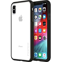 Incipio Octane 纯手机壳 iPhone Xs Max(6.5英寸)半透明背壳减震外缘防震IPH-1761-BLK 黑色