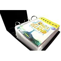 My Broadway 活页夹:包括 20 张保护膜,翻盖折叠(防止游戏账单掉落)