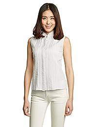 MANGO 女式 无袖清凉休闲衬衫 43007526