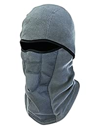 N-Ferno 6823 Thermal Fleece Wind-Resistant Hinged Balaclava, Gray