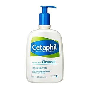 Cetaphil 丝塔芙 加拿大进口 敏感肌肤专用温和清洁无泡洁面乳591ml/瓶 (法国品牌)