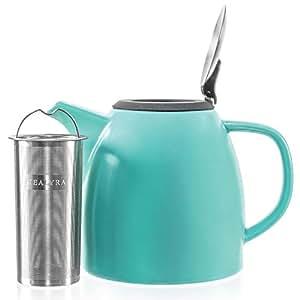 drago 茶壶 蓝绿色 37-ounce