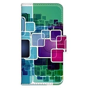 智能手机壳 手册式 对应全部机型 印刷手册 wn-155top 套 手册 箱子艺术 UV印刷 壳wn-0033456-wy Xperia J1 Compact D5788 图案D