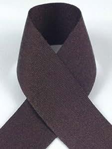 Schiff Ribbons N8144-1.5 3/8 英寸涤纶单粒绸缎,100 码 棕色 100-Yard N8144-1.5