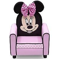 Delta Children Delta Children 人形坐垫儿童椅,迪士尼米妮老鼠 Disney 米妮老鼠