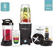 NUTRIBULLET Balance 1200瓦 – 立式搅拌机 – *旋风技术 – 榨汁机 – *食物,塑料,黑色
