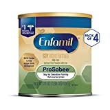 Enfamil 美赞臣 Prosobee 富含大豆基 婴幼儿 1段 配方奶粉 22 盎司(624g)/罐 (4罐装)