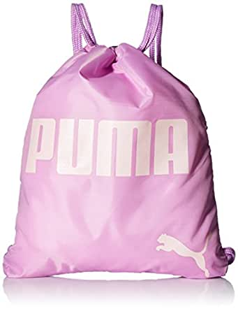 PUMA 大童手提包,粉色/绿色,OS