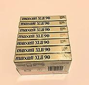 Maxell XLII IEC II 型 90 分钟高偏置音频盒带 - 7 包