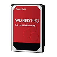 WD Red Pro 10TB NAS Hard Disk Drive - 7200 RPM Class SATA 6 Gb/s 256MB Cache 3.5 Inch - WD101KFBX