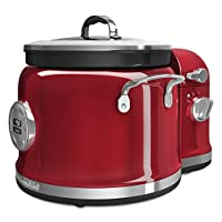 KitchenAid KMC4244CA Cooker with Stir Tower, Candy Apple 需配變壓器