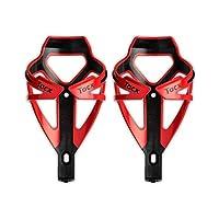 Tacx Deva 水瓶架 - 红色/黑色 - 一对(2 个笼)