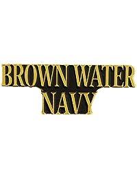 美国*棕色水*越南战争 2.54 厘米翻领别针