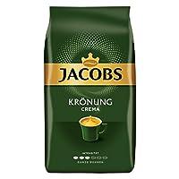 Jacobs Krönung Crema 咖啡豆 4袋装,(4 x 1000克)