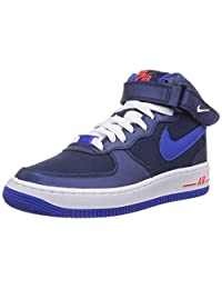 Nike - Air Force 1 Mid GS - Color: Blue-Navy blue - Size: 5.0US Air Force 1 Mid 06 (Gs)