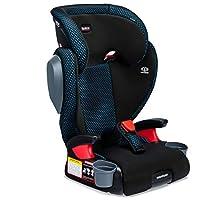 Britax USA Highpoint 2 阶段*带定位助推器 凉爽流动透气织物汽车座椅 - 高背和无靠背 - 3 层碰撞保护 - 40 至 120 磅 Cool Flow Teal
